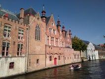 Bruge kanal Royaltyfria Bilder
