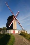 Bruge Windmühle stockfoto