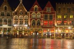 Bruges à Noël Image stock