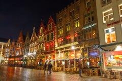 Bruges à Noël Photos libres de droits