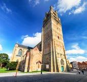 Bruges - Świątobliwy wybawiciel Katedralny Sint-Salvatorskathedraal, Zdjęcie Royalty Free
