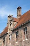 Bruges. Chimneys of St John's Hospital, Bruges, Belgium Stock Images