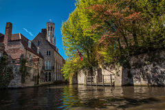 Bruges Obrazy Royalty Free
