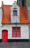 Bruges almshouses Royalty Free Stock Images