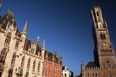 Bruges architecture Stock Photography