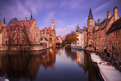 Free Bruges At Twilight Royalty Free Stock Images - 67131249