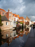 Bruges at autumn, Belgium Royalty Free Stock Images