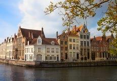 Bruges at autumn, Belgium Stock Photo