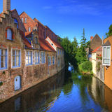 Bruges, Bélgica Foto de Stock Royalty Free
