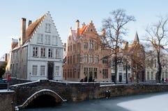 Bruges Bélgica Foto de Stock Royalty Free