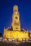 Bruges - beffroi image libre de droits