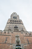 Bruges, Beffroi tower in Grand Place Royalty Free Stock Photos
