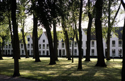 Bruges Beguinage Royalty Free Stock Photos