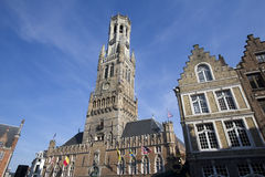 Bruges Belfort Royalty Free Stock Photography