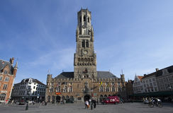 Bruges Belfort Royalty Free Stock Photo