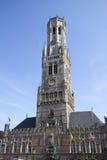 Bruges Belfort Tower Stock Image