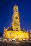 Bruges - Belfry Royalty Free Stock Image