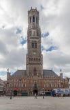 Bruges Belfry Clock Tower Belgium Stock Photography