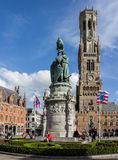 Bruges Belfry Clock Tower Belgium Royalty Free Stock Images