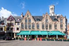 Bruges Belfry Clock Tower Belgium Stock Images