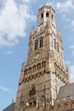 Bruges belfry (detail) Stock Images