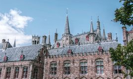 Bruges, Belfry, Old Firm, Town Home Royalty Free Stock Photo