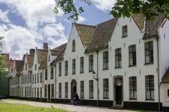Bruges Belgien Arkivbild