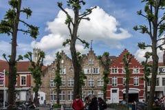 Bruges Belgien Arkivfoto
