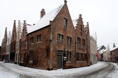 Bruges Belgien Royaltyfria Bilder