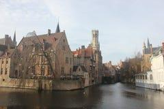 Bruges - Belgien Arkivbilder