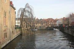 Bruges - Belgien Arkivbild