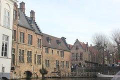 Bruges - Belgien Arkivfoton