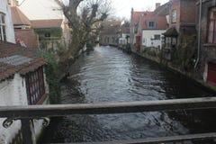 Bruges - Belgien Arkivfoto