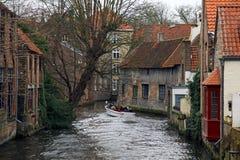 Bruges Belgien Flanders Arkivfoto