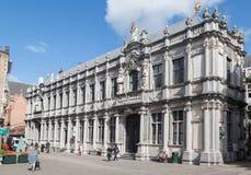 Bruges Belgien historisk byggnad Arkivfoton