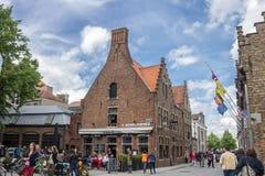 Bruges Belgio Fotografia Stock Libera da Diritti