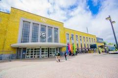 Bruges, Belgio - 11 agosto 2015: Plaza piacevole con Fotografia Stock Libera da Diritti