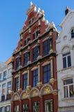 BRUGES, BELGIO EUROPA - 25 SETTEMBRE: Costruzione che alloggia lo Za Immagine Stock