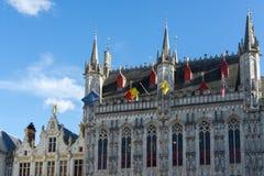 BRUGES, BELGIO EUROPA - 25 SETTEMBRE: Palazzo provinciale a marzo Fotografia Stock