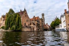 Bruges, Belgique en octobre 2016 images libres de droits