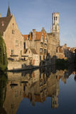 Bruges in Belgium Royalty Free Stock Photography