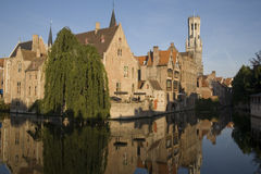 Bruges in Belgium Stock Images