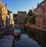 Bruges belgium immagine stock