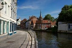Bruges belgium agosto immagine stock libera da diritti