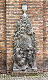 Bruges Belgium Monument Royalty Free Stock Image