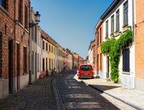 Bruges. Belgium. City streets. stock image