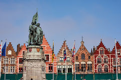 Bruges,Belgium. Colorful buildings in Bruges, Belgium Royalty Free Stock Photography