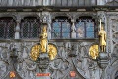 BRUGES, BELGIUM/ EUROPE - SEPTEMBER 25: The Basilica of the Holy Stock Photos