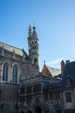 BRUGES, BELGIUM/ EUROPE - SEPTEMBER 25: The Basilica of the Holy Stock Photo