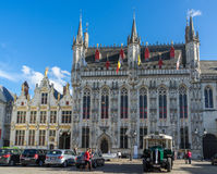BRUGES, BELGIUM/ EUROPE - SEPTEMBER 25: Provincial Palace in Mar Stock Photo